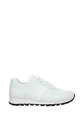 Prada Sneakers Herren - Leder (4E3198VITELLOPLUMEBIANCO) 40 EU