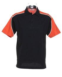 Formula Racing Monaco Formula Racing ® Polo Noir/orange/blanc XL