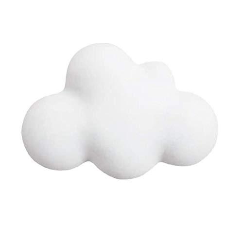 Forma Molde de la Vela del jabón del silicón DIY 3D Molde de Resina Nube de Regalo de la joyería Arcilla Arte Hornear Decoración Haciendo Blanca