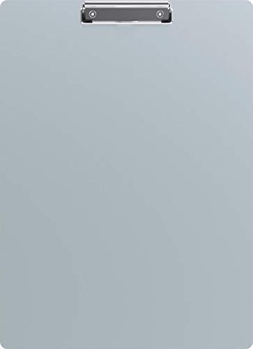 Maul klembord, schrijfbord, A3 staand formaat, geanodiseerd aluminium, opening 8 mm, dikte van de plaat 1 mm