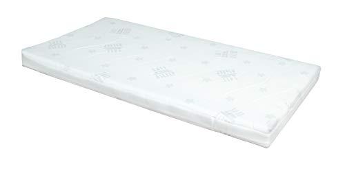 safe asleep von roba Babybettmatratze AIR BALANCE PLUS, 70 x 140 x 9cm, mit atmungsaktivem 3D Material für ein optimales Schlafklima, mehrfach gerillt, gelocht, Babybettmatratze, Kinderbettmatratze