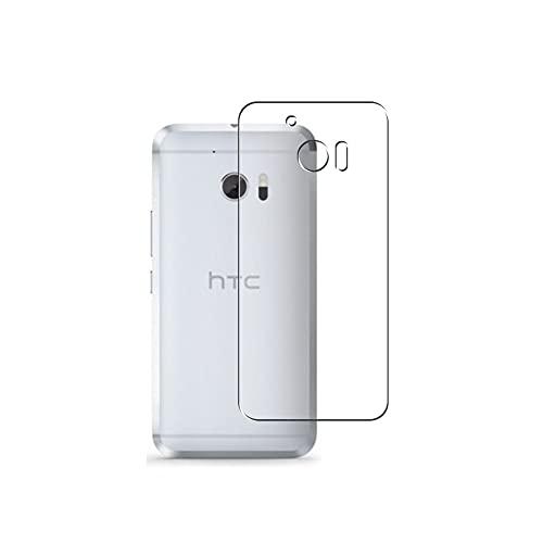 Vaxson 2 Stück Rückseite Schutzfolie, kompatibel mit HTC 10 (HTC One M10) HTV32 / HTC One 2 Perfume HTC M1, Backcover Skin TPU Folie Haut [nicht Panzerglas Bildschirmschutzfolie Hülle Hülle ]
