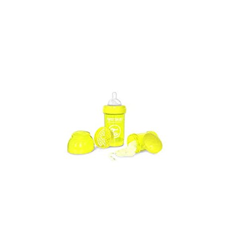 Twistshake 78039 - Biberón, color amarillo