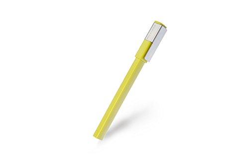 Moleskine Writing Collection - Bolígrafo Medio 0.7, color amarillo Heno