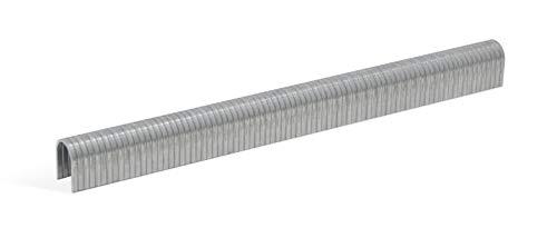 REGUR Typ 36 Bogenklammern verzinkt - 2.000 Rundklammern in der Länge 36/10 mm – Tackerklammern zur Befestigung von Drahtgeflecht, Kabeln, Rundhölzer u.v.m.