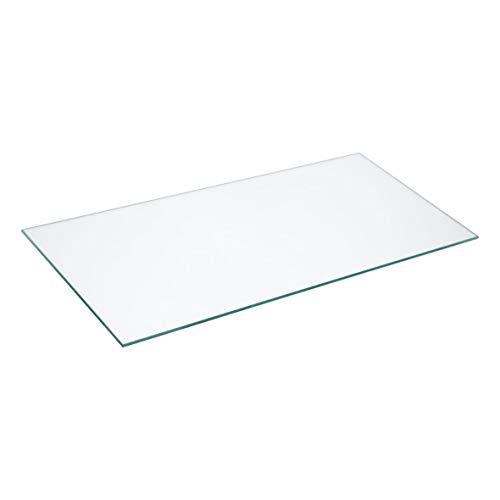 Gorenje 639903 ORIGINAL Glasplatte Gemüsefachabdeckung Gemüsefachplatte Glasablage Boden 430x202mm Gemüsefach Kühlschrank auch passend wie AEG Electrolux Zanker Zanussi 50227705006