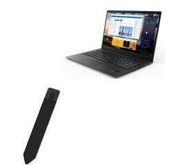 BoxWave Smart Gadget para Lenovo Thinkpad X1 Carbon (6ª geração) [Stylus PortaSleeve ] Portador de caneta portátil autoadesivo para Lenovo Thinkpad X1 Carbon (6ª geração) - Preto
