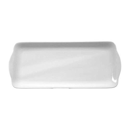 Seltmann Compact Plateau à gâteau rectangulaire Blanc 34,5 x 14,5 cm