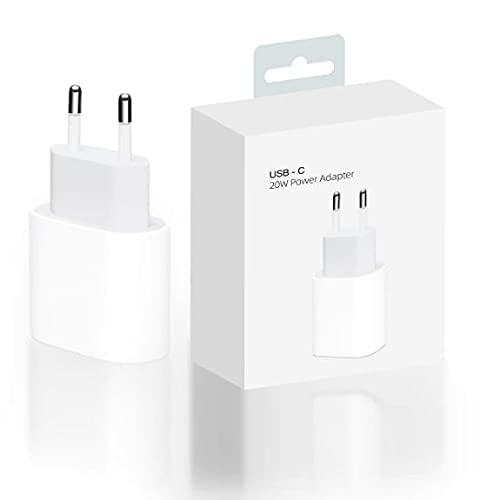 ICSON EASY SPEED Cargador USB C de 20 W Fuente de alimentación Adaptador de Corriente USB C de 20w