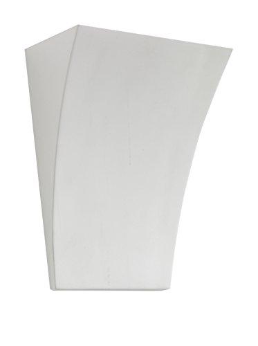 Wink design, Georgia, Applique, Bianco, Lunghezza 19,5 cm/Profondità 11 cm/Altezza 26 cm