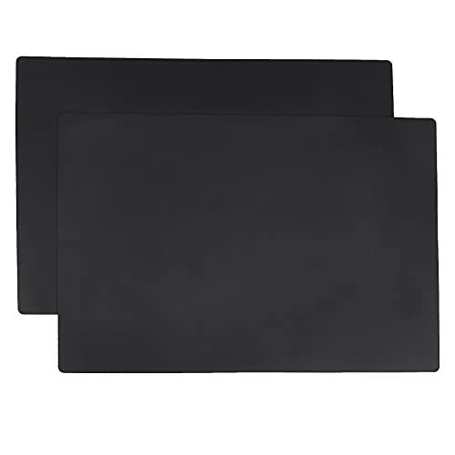 AmazonCommercial Lot de 2 Tapis en silicone, protection de plan de travail de cuisine, 63,5x43,1cm (polyvalent, animal de compagnie)