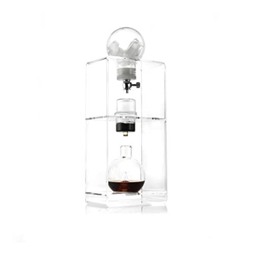 GAOJIA Dripper ekspres do kawy mrożonej, ekspres do kawy mrożonej, szkło borokrzemowe ekspres do kawy na zimno duża pojemność powolne kapanie ekspres do kawy lodowej