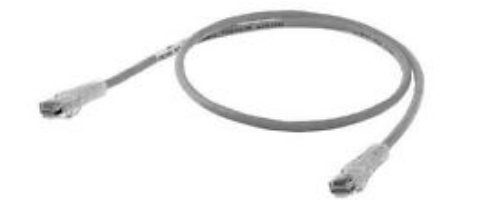 Hubbell Wiring Systems HC5EGY10 netSELECT Structured Wiring Universal Patch Cord, Category 5e, 10' Length, Gray