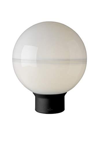 Villeroy&Boch Tokio tafellamp, metaal, 25 W, zwart/wit, H 36 cm, Ø 30 cm
