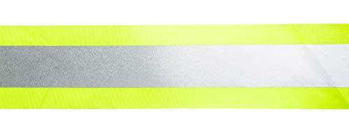 5m Reflektierendes Band / Reflektorband 30mm breit - neongelb - zum Aufnaehen