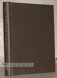 Hardcover A Preliminary Bibliography on the American Fur Trade Book