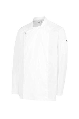 Chaqueta Hostelería Unisex De Manga Larga. Color Blanco. Ropa Cocina/Cocinero/Cocinera/Chef. Talla M. Ref: 4123