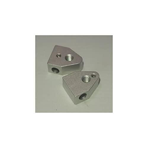 YANYAN MAYALI 2 Pz * Aluminum Heater Block Fit for Replicator 2X 3D Stampante