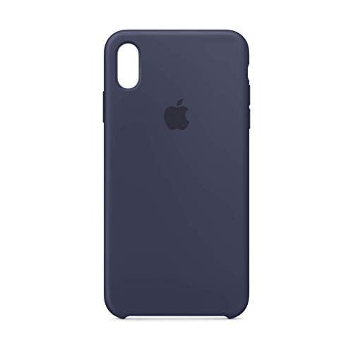 Apple Custodia in silicone (per iPhoneXSMax) - Blu notte