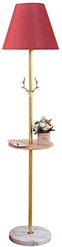 MY1MEY Standleuchte Home mall- Stehlampe aus Eisen | Moderne minimalistische Stil-Stehlampe mit Holzschale | für Wohnzimmer Schlafzimmer Arbeitszimmer 155X36cm (Farbe : Color#3)