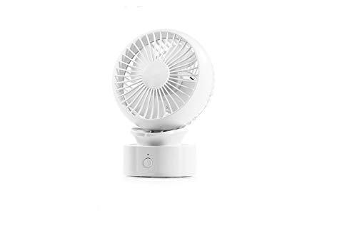 EASYmaxx Akku-Tischventilator Ventilator, weiß