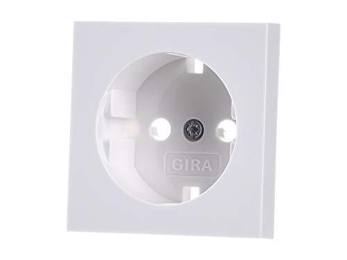Gira 092003 Abdeckung reinweiss f. Steckdose 018803 System55