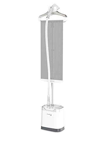 Rowenta IS8440 Professional 1700-Watts Full Size Garment and Fabric Steamer with Screen, White