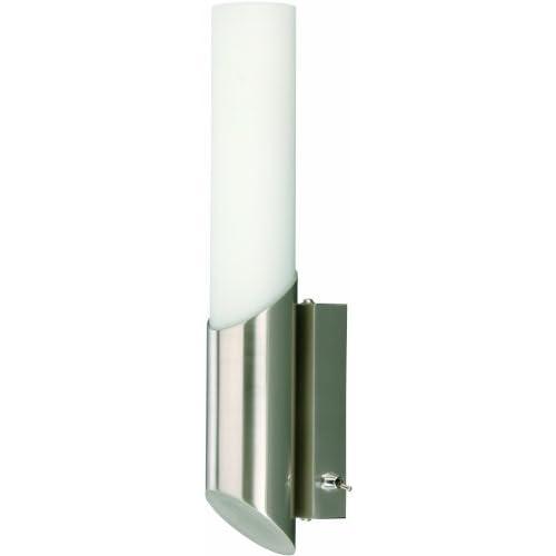 Briloner Leuchten Applique da Bagno per Specchio E14, 40 W, Marrone