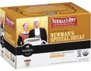 Newman's Keurig Brewed Organics Fair Trade Certified Organic Special Decaf Extra Bold Medium Roast Decaffeinated K-Cups 4.02 OZ (Pack of 18)