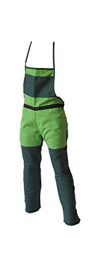 II 6412 Peto protector para desbrozadora, Verde, 35x29x6 cm