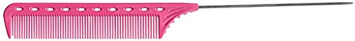 YS Park Y S 102 Pin Tail Comb Pink by YS Park