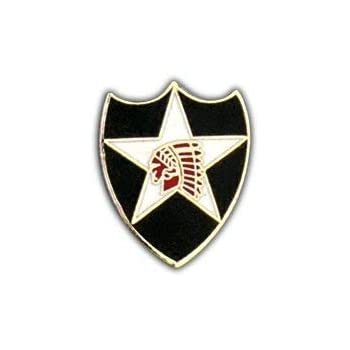 """Lapel pin,Tie Tack,Hat pin Army {23rd  Infantry Division  } 1 inch x 3//4 inch}/"""""""