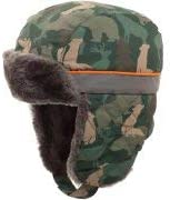 Toddler Camouflaged Faux Fur Alternative dealer Liliya Trapper Max 74% OFF Collection Green