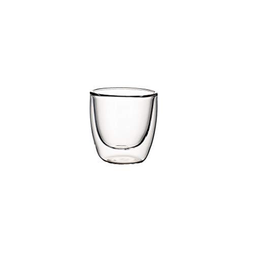 Villeroy & Boch Artesano Hot&Cold Beverages Tazas de té, 0.11 litros, medido hasta el borde, Vidrio borosilicatado