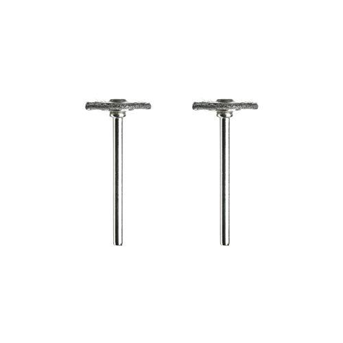 Dremel 428 Stahl-Drahtbürste - Zubehörsatz für Multifunktionswerkzeug mit 2 Stahl-Drahtbürsten Ø19mm zum Polieren, Glätten, Entfernen von Rost, Metall, Verbindungsstellen und Elektrischen Komponenten