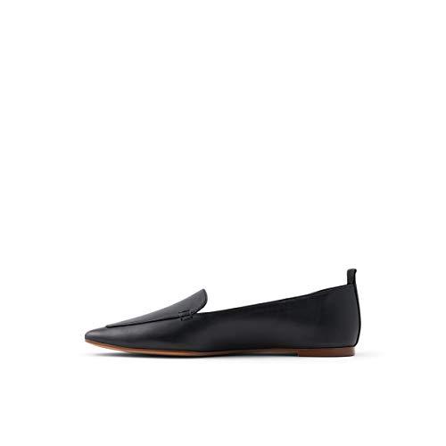 ALDO Women's Orsoniflex Loafer Flat, Black, 10