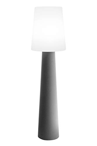 8 seasons design No. 1 Lampe, Polyethylen, Grey, H 160 cm
