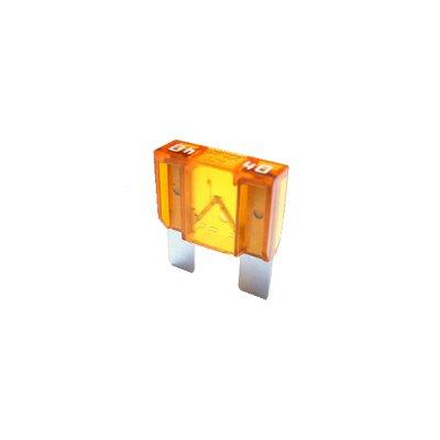 2 x Flachstecksicherung MAXI - Sicherung 40A / 32V / orange