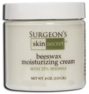 Surgeon's Skin Secret 25 Percent Natural Beeswax Cream, 4 Ounce