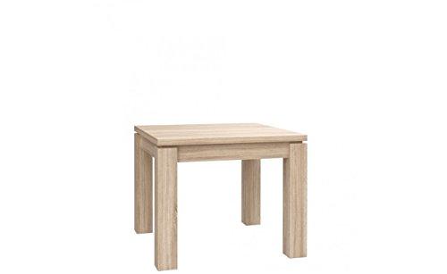 Furniture24 Tisch Küchentisch Esszimmertisch Esstisch ausziehbar 90-180 cm (Sonoma Eiche)