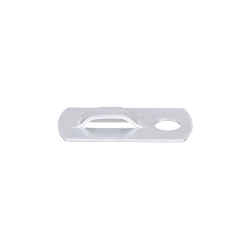 Panduit MBMS-S10-MY Metal Screw-On Cable Tie Mount, #10 Screw, Aluminum, 1 by 0.50-Inch (1,000-Pack)