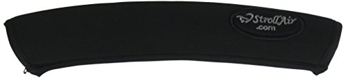 StrollAir 12 inch Long Universal Handle Sleeve Cover, Black, 12'
