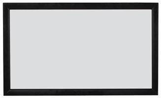 VISIVO Rahmenleinwand Premium 21:9 in 3,04m x 1,37m Gainfaktor 1.0 mattweiß