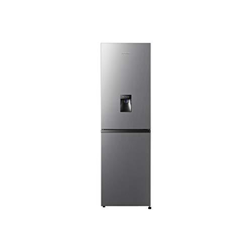 Fridgemaster MC55240MDS 240 Litre Freestanding Fridge Freezer 50/50 Split A+ Energy Rating 55cm Wide - Silver