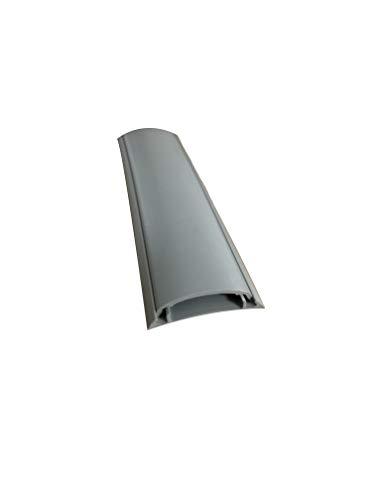 Canaleta de suelo para cables gris 50x10 mm 2 metros