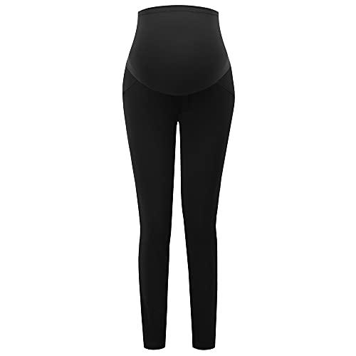 Maacie Leggings premamá de Punto, Pantalones Casuales MC1104-1_XL