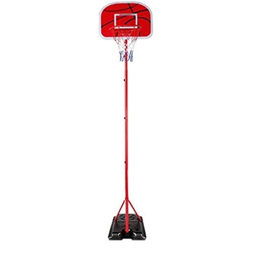 Reemplazo de red de baloncesto resistente Arco de baloncesto portátil, marco de succión al aire libre para niños para niños, borde de la canasta de los niños estable interior Aro de baloncesto interio
