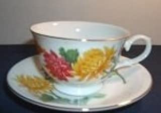 Avon November- Blossoms of the Month Cup and Saucer