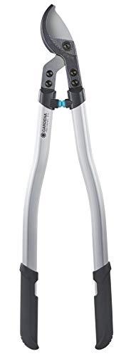 Gardena Premium Astschere 700B: Bypass Baumschere für schonenden, exakten Beschnitt von Pflanzen, präzisionsgeschliffene Messer, doppelt gebogene, stabile Aluminium-Profilarme (8710-20)