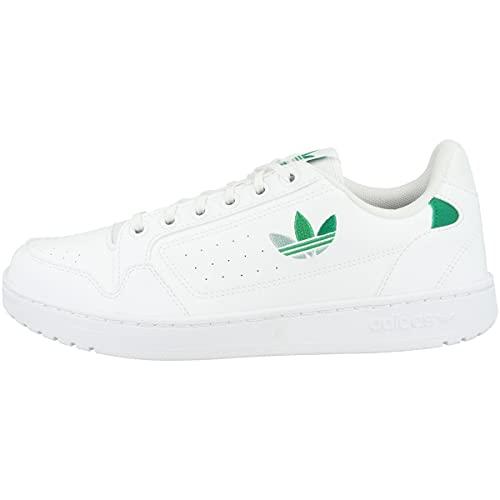 adidas NY 92, Zapatillas Deportivas Hombre, FTWR White Green Vivid Green, 41 1/3 EU
